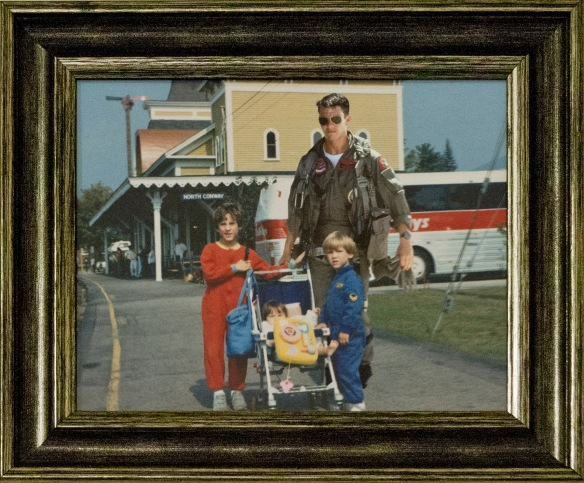 "Camden Place, ""Skyler, Chelsea, Maverick and Me,"" Digital Collage, Frame, 11"" x 13"""